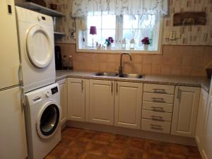 A kitchen or kitchenette at Villa Helena Bed & Breakfast - Adults Only