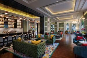 Lounge oder Bar in der Unterkunft The Leela Palace Jaipur