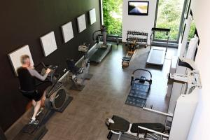 The fitness centre and/or fitness facilities at Studio K