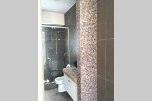 A bathroom at Penthouse frente al mar - Playa Señoritas