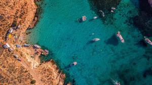 Een luchtfoto van Bayview Hotel by ST Hotels