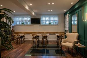 Ο χώρος του lounge ή του μπαρ στο Its Kale Boutique Hotel