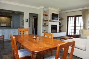 Dining area in the country house
