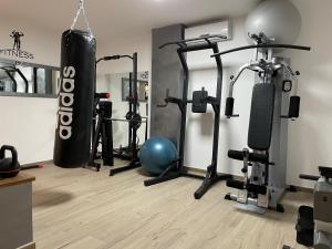 Palestra o centro fitness di Colleverde Park Hotel