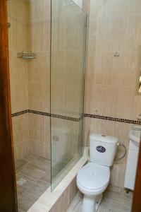 A bathroom at Inn Sedmoe nebo