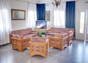 Area soggiorno di Babis Hotel