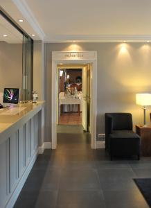 Lobby/Rezeption in der Unterkunft Hotel und Landhaus 'Kastanie'