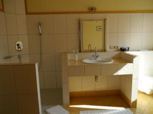 A bathroom at Hotel zum Schwan