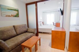 Zona de estar de Hotel Jeni & Restaurant
