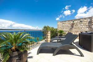 A balcony or terrace at Holiday Home Dona Maria