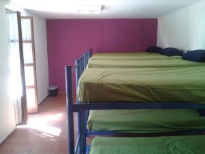 A bunk bed or bunk beds in a room at Albergue de Canfranc Estación