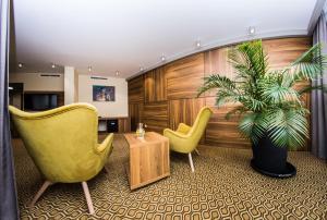 Część wypoczynkowa w obiekcie Ruben Hotel Zielona Góra