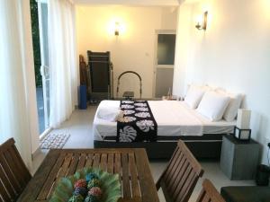 Ein Bett oder Betten in einem Zimmer der Unterkunft Selyna Sky Terrace