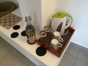 Küche/Küchenzeile in der Unterkunft Selyna Sky Terrace