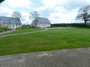 A garden outside The Waie Inn