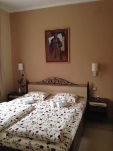 Krevet ili kreveti u jedinici u okviru objekta Apartments Light