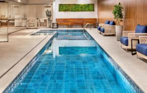 The swimming pool at or near Meliá Paulista