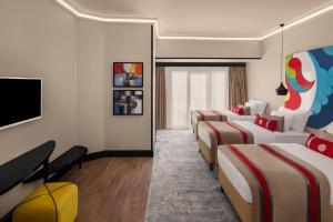 A seating area at Sura Hagia Sophia Hotel