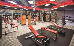 The fitness center and/or fitness facilities at Borgata Hotel Casino & Spa