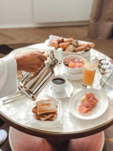 Breakfast options available to guests at Park Hyatt Vienna