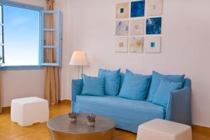 A seating area at Mill Houses Elegant Suites