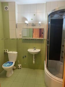A bathroom at Kompleks Wypoczynkowy Harnaś II