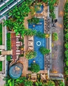 A bird's-eye view of Four Seasons Hotel Jakarta