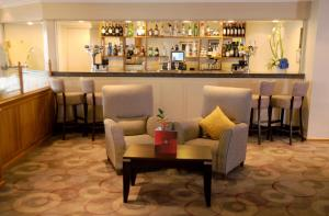The lounge or bar area at Thistle Poole