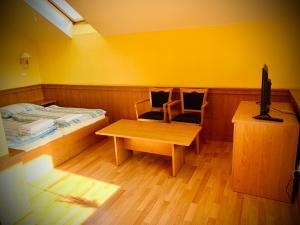 Postel nebo postele na pokoji v ubytování Hotel MACOCHA