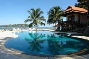The swimming pool at or close to Buritara Resort, Phangan Island