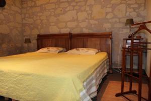 Un ou plusieurs lits dans un hébergement de l'établissement Logis de la Pichonnière