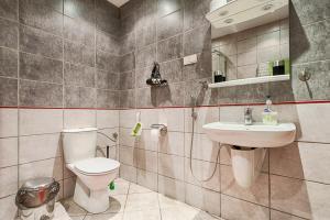 Łazienka w obiekcie Nordic House Apartments