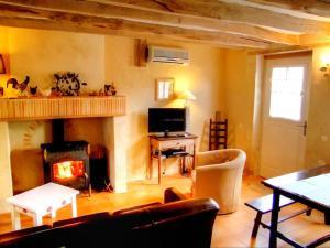 Posezení v ubytování Gîte Mazières-de-Touraine, 3 pièces, 4 personnes - FR-1-381-200