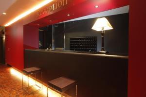 The lobby or reception area at Hotel 1-2-3 Nagoya Marunouchi