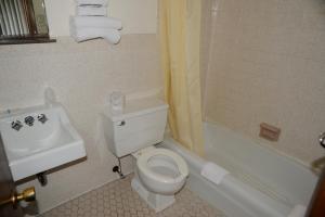 A bathroom at Starlite Motel