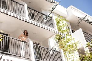 A balcony or terrace at Montrose West Hollywood