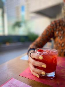 Drinks at Hotel Brasil 21 Suites
