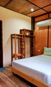 A bunk bed or bunk beds in a room at Allba's Homestay