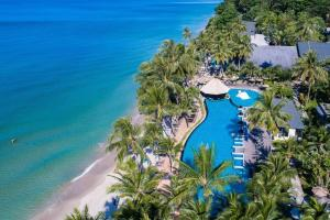 A bird's-eye view of KC Grande Resort & Spa
