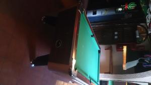 A pool table at Camping Pla