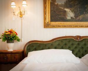 Кровать или кровати в номере Pension Suzanne