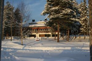 Hotel Jokkmokk under vintern