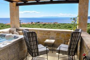 Μπαλκόνι ή βεράντα στο Polismata - Private Residences
