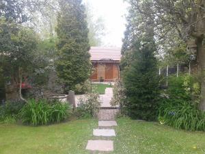 A garden outside Manor Garden Lodge