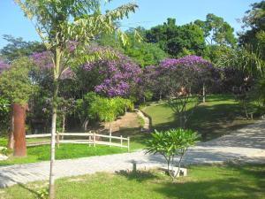 A garden outside Hotel Sambaetiba