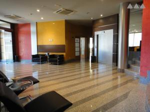 The lobby or reception area at Hotel Palacio Congresos