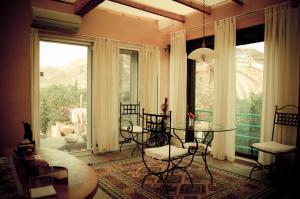 Zona de estar de Complejo La Ermita