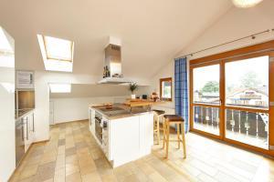 Küche/Küchenzeile in der Unterkunft Luftikus Lodge