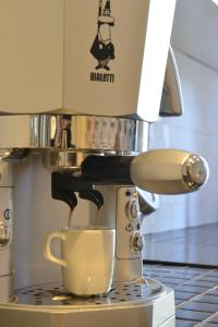 Coffee and tea-making facilities at Maison Flaminio
