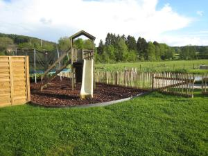 Children's play area at Gite Kooa